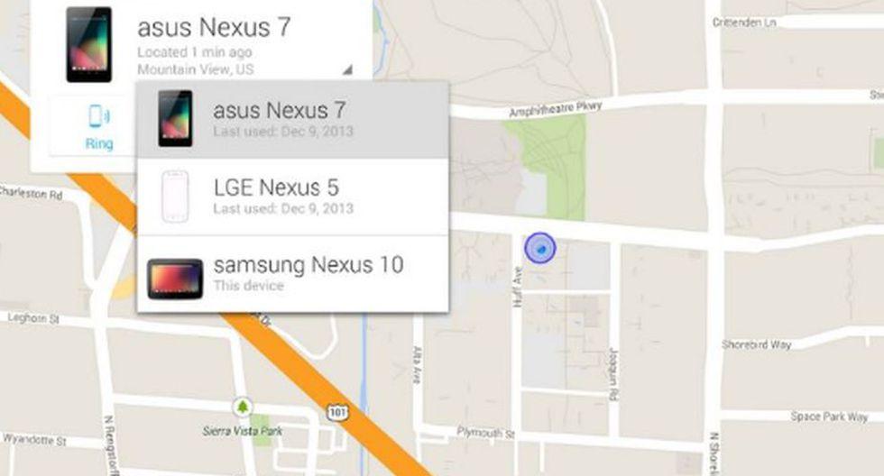 Tal vez haya modelos similares, pero en la búsqueda, saldrán todos los dispositivos y así podrás reconocer el tuyo. (Foto: Google Inc.)