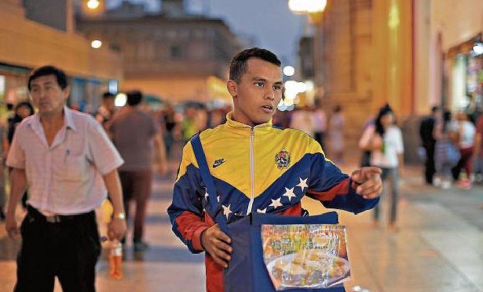 Venezolanos en Perú (Foto: Perú21)