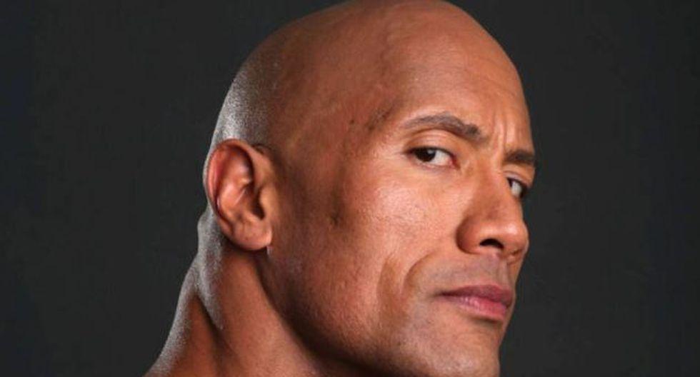 Dwayne Johnson la 'Roca' fue víctima de censura.