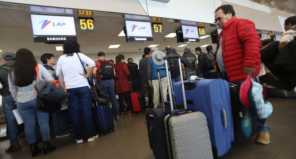 Indecopi coordina con entidades para atender a pasajeros afectados por cancelación de vuelos. (Foto: GEC)