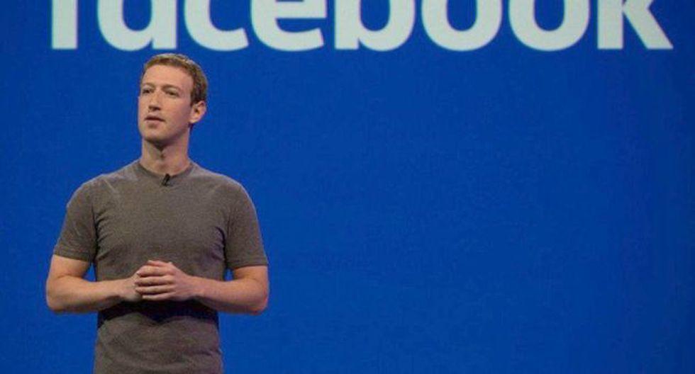 Mark Zuckerberg, creador de Facebook. (Foto: EFE)