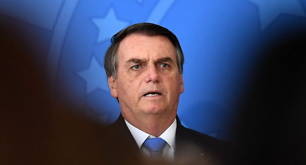 Cae popularidad del presidente de Brasil, Jair Bolsonaro. (Foto: AFP)
