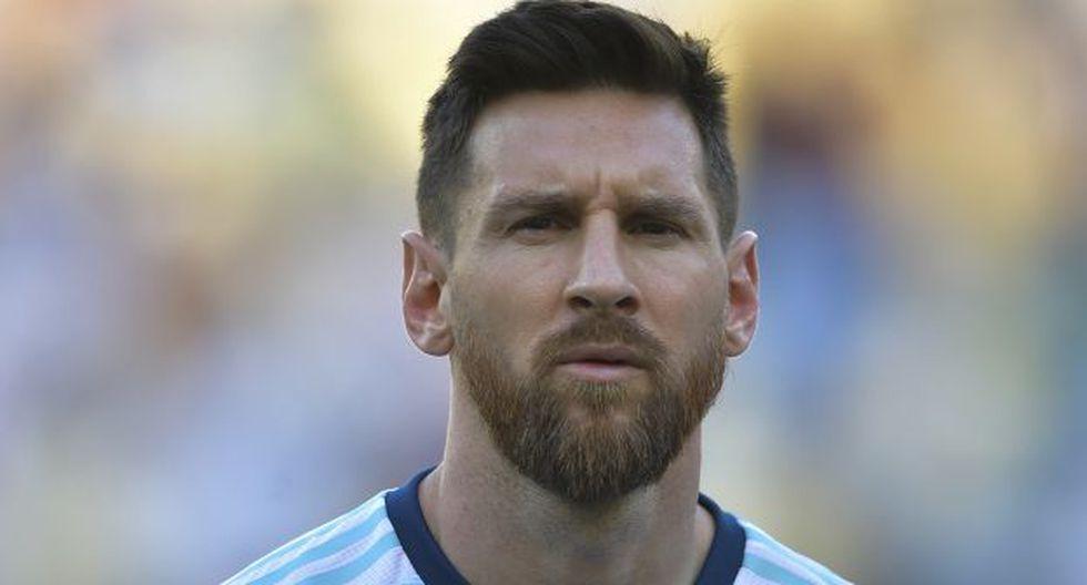 Lionel Messi cantó el himno por primera vez previo a partido de Argentina. (Foto: AFP)