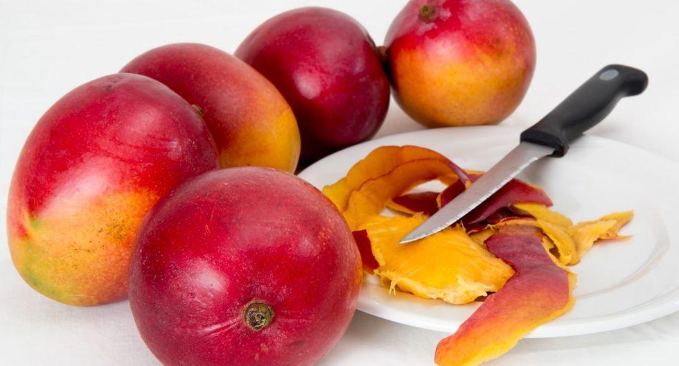 Frutas como el mango. (Foto: Pixabay)