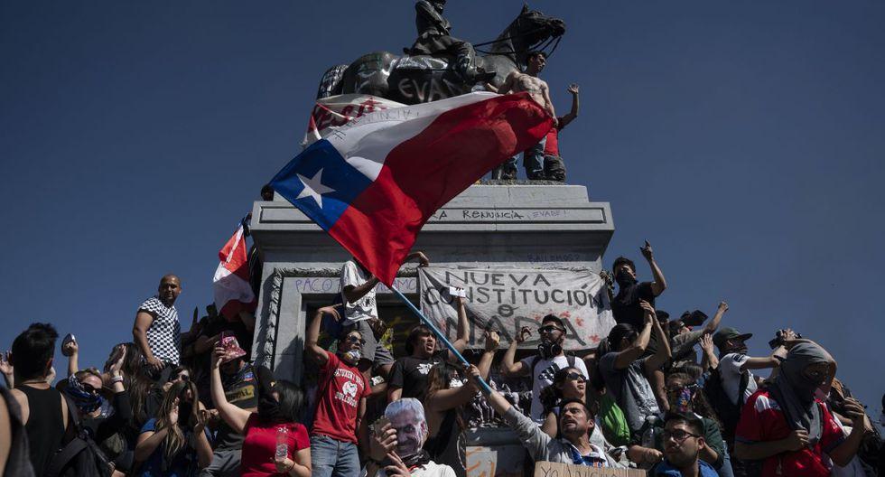Los sindicatos coinciden con el descontento social instalado en Chile, uno de los países más desiguales del mundo. (Foto: AFP)