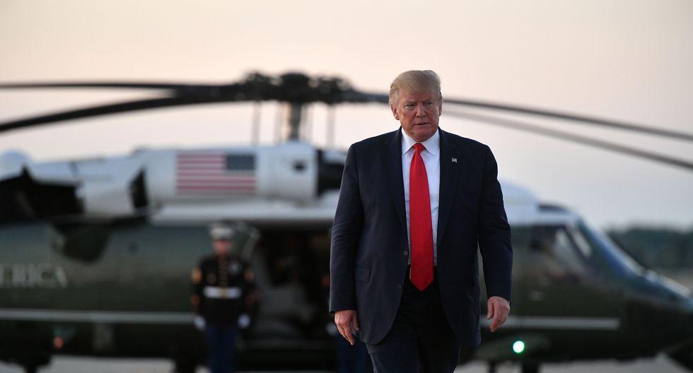 El presidente Donald Trump utilizó su cuenta de Twitter para referirse a parlamentarias demócratas de origen extranjero. (Foto: AFP)