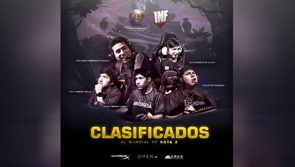 El equipo participará por segunda vez en el famoso torneo de DotA 2. (Foto: Facebook)