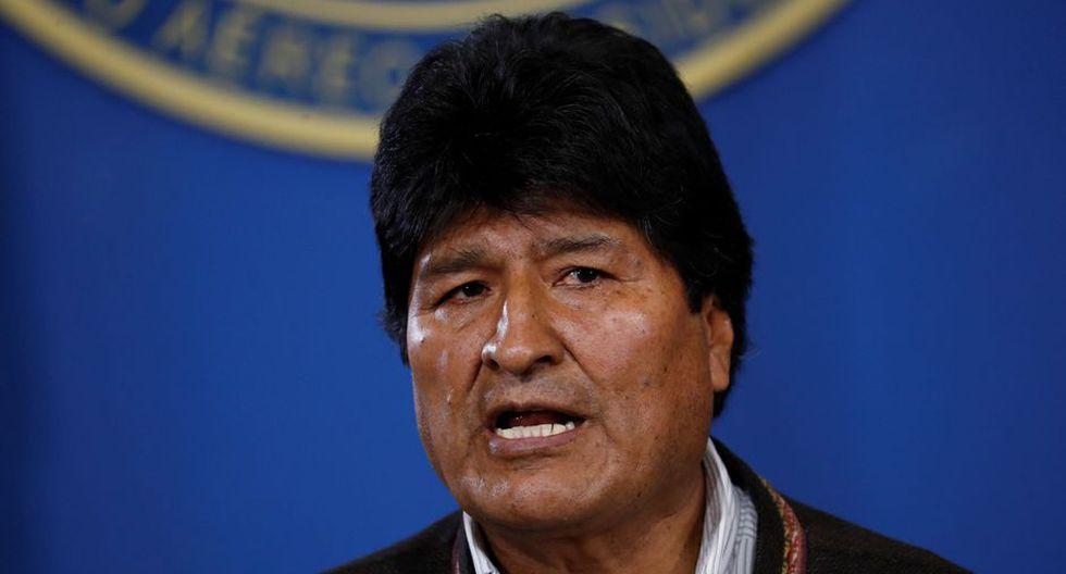 Evo Morales renunció hoy a la presidencia de Bolivia. (Foto: Reuters).