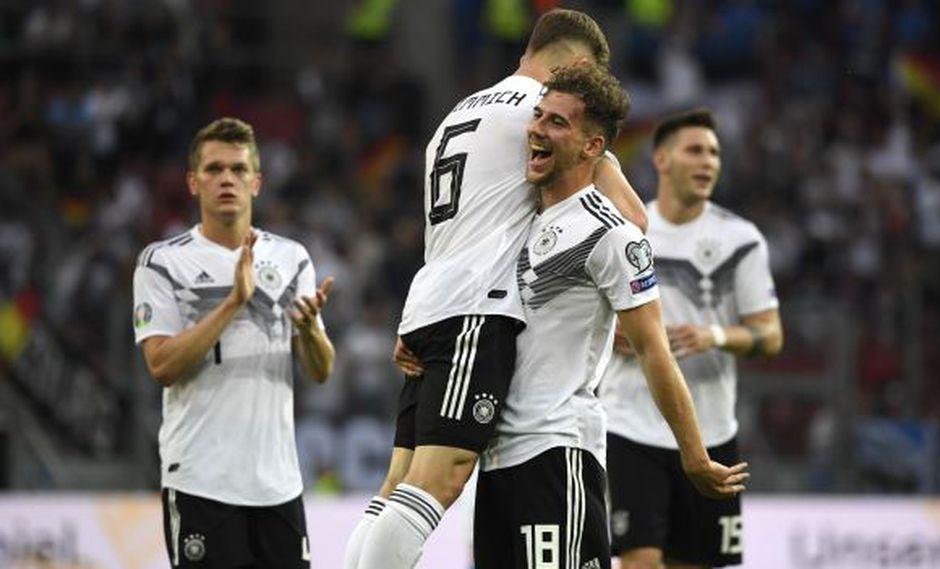 Alemania se acordó de Brasil en Twitter tras golear a Estonia en Eliminatorias rumbo a Eurocopa 2020