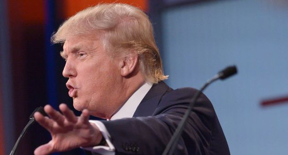 """""""¿Quién haría una declaración así?"""", manifestó Trump. (Foto: AFP)"""