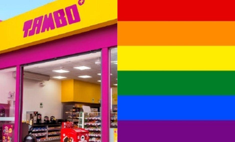 Tambo utiliza bandera LGBT en su logo y responde así las críticas de usuarios