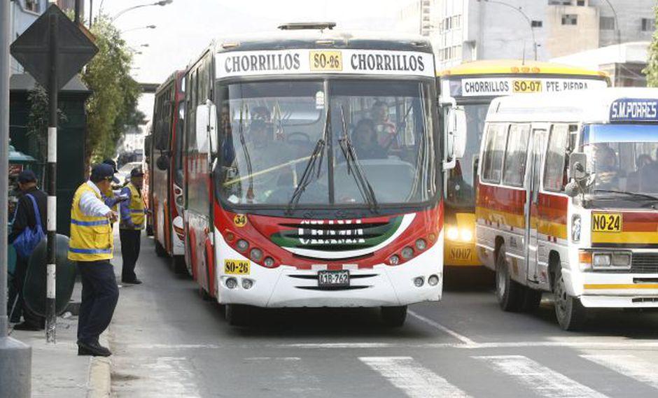 En el eje Arequipa-Garcilaso-Tacna habrá 1.500 unidades de transporte público desde julio. Hoy hay 3 mil. (Foto: USI)