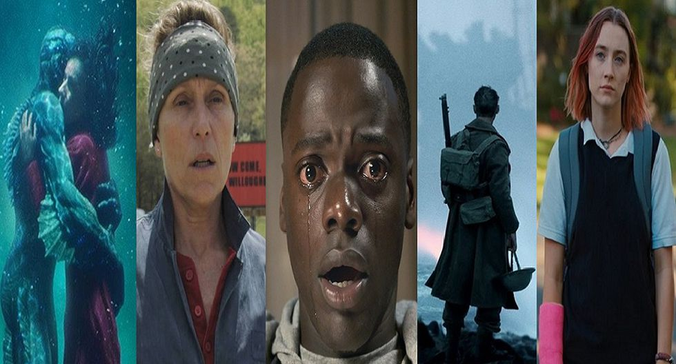La contienda de las nominadas para alzarse como 'Mejor Película'.
