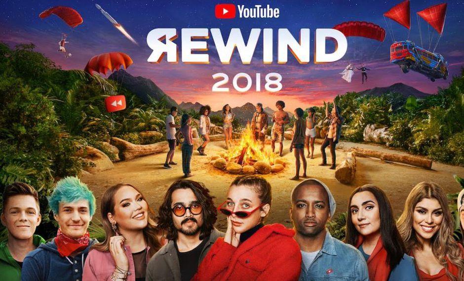 YouTube Rewind: estos fueron los videos más vistos en el Perú y el mundo en 2018