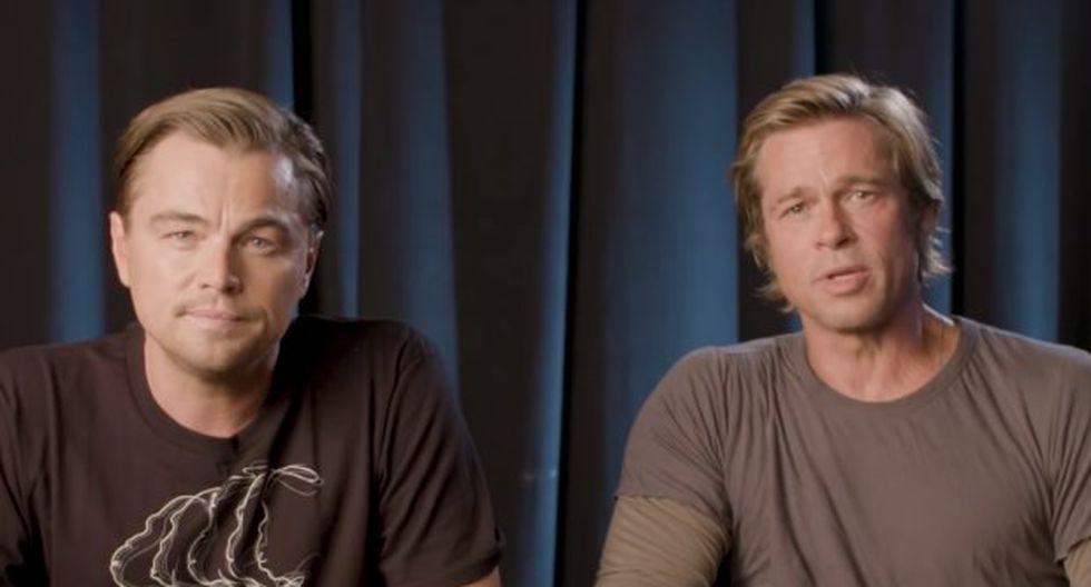 El vídeo de DiCaprio y Pitt, forma parte de una notable movilización de estrellas de Hollywood antes de los comicios de este martes. (Foto: captura de YouTube)