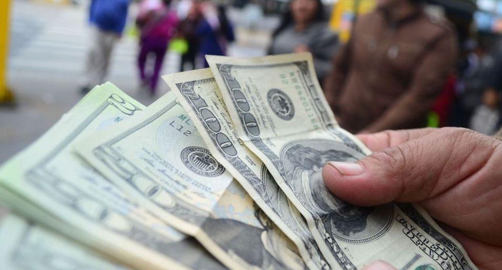 El dólar se sitúa en S/ 3.35 (Foto: Andina)