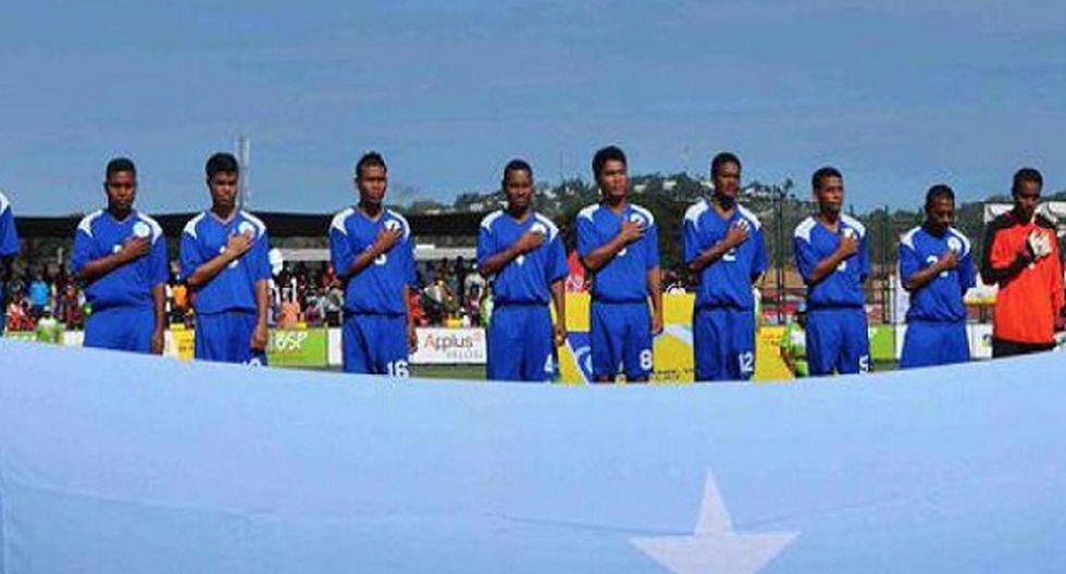 El último partido de Micronesia quedará registrado como la goleada más abultada del fútbol internacional, señalaron los organizadores. (Foto: Twitter/PORTMORESBY2015)