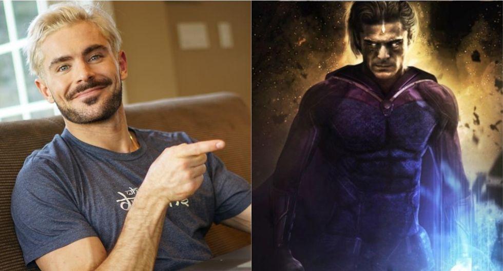 """Zac Efron podría interpretar a 'Adam Warlock' en la tercera entrega de """"Guardianes de la Galaxia"""". (Foto: @zacefron)"""