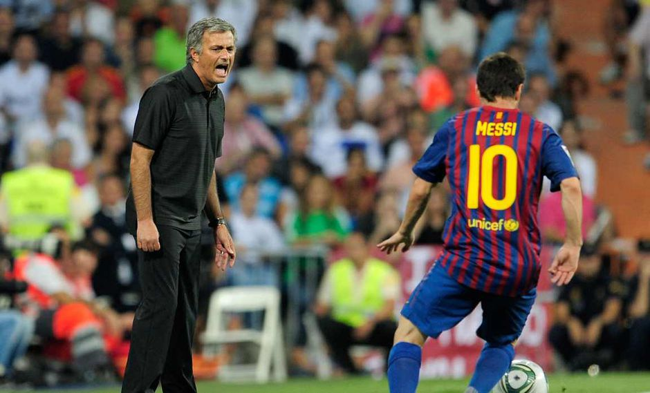 José Mourinho se refirió a la influencia de Lionel Messi en su trabajo. (Foto: AFP)