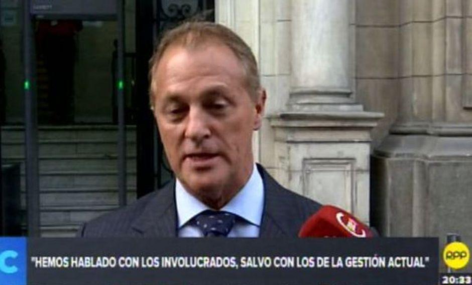 Muñoz dijo que se invitó a funcionarios de la MML para que participen en las reuniones pero no asistieron. (RPP TV)