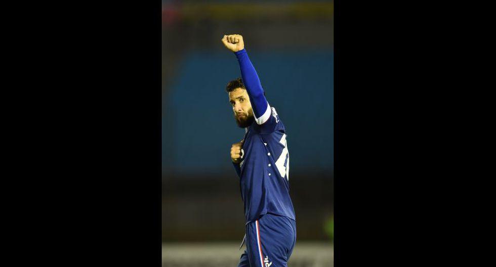 Mauricio Victorino (Universidad de Chile) jugó este año en Danubio. (Foto: AFP)