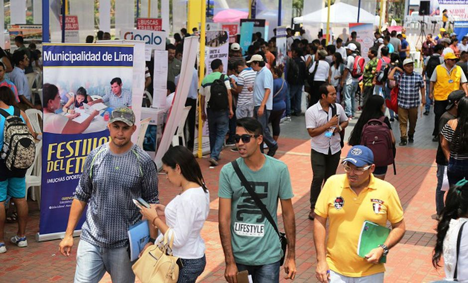 Feria de Empleo se realiza este viernes. Interesados deben llevar DNI (Foto: Difusión)