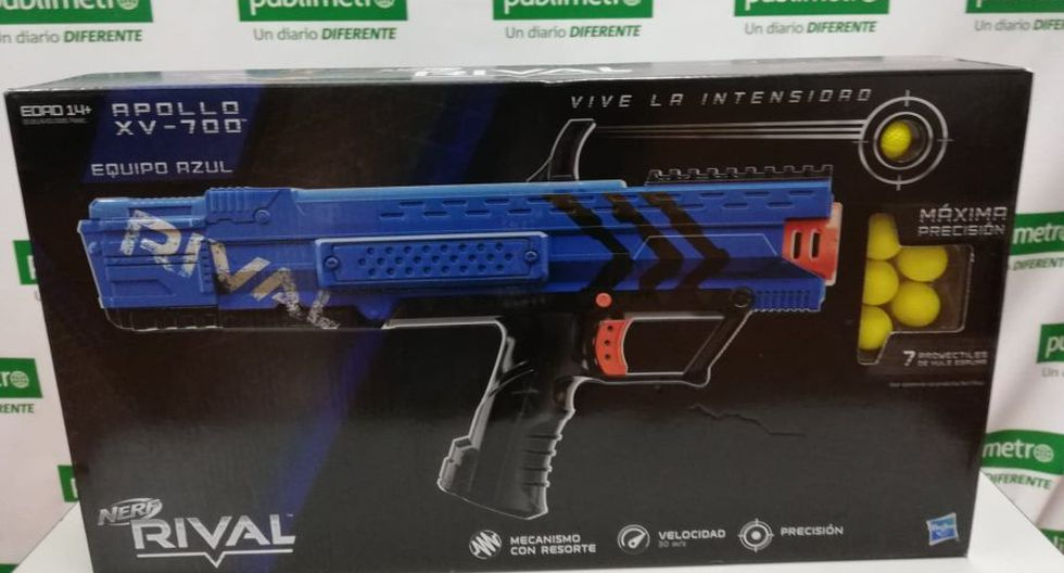 Nerf Rival Helios.