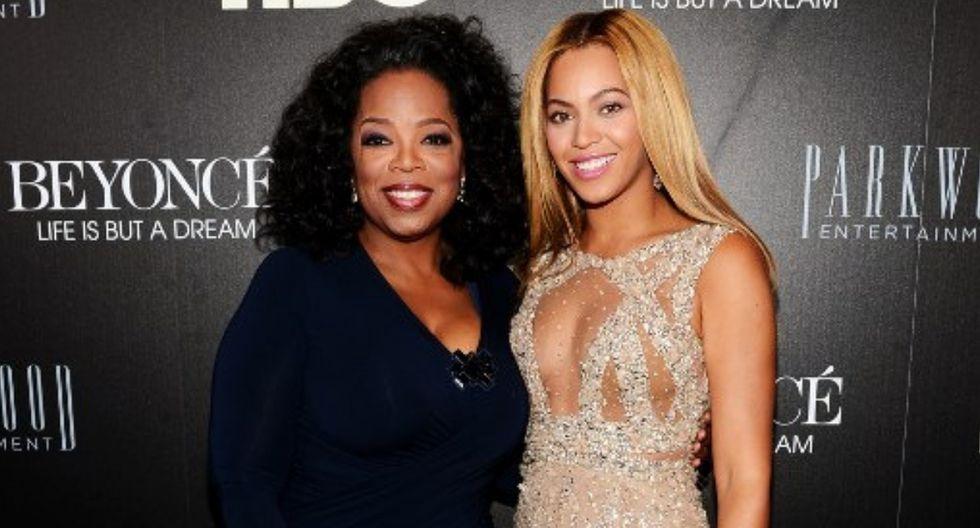 Beyoncé saluda a Oprah Winfrey por su cumpleaños. (Foto: AFP)