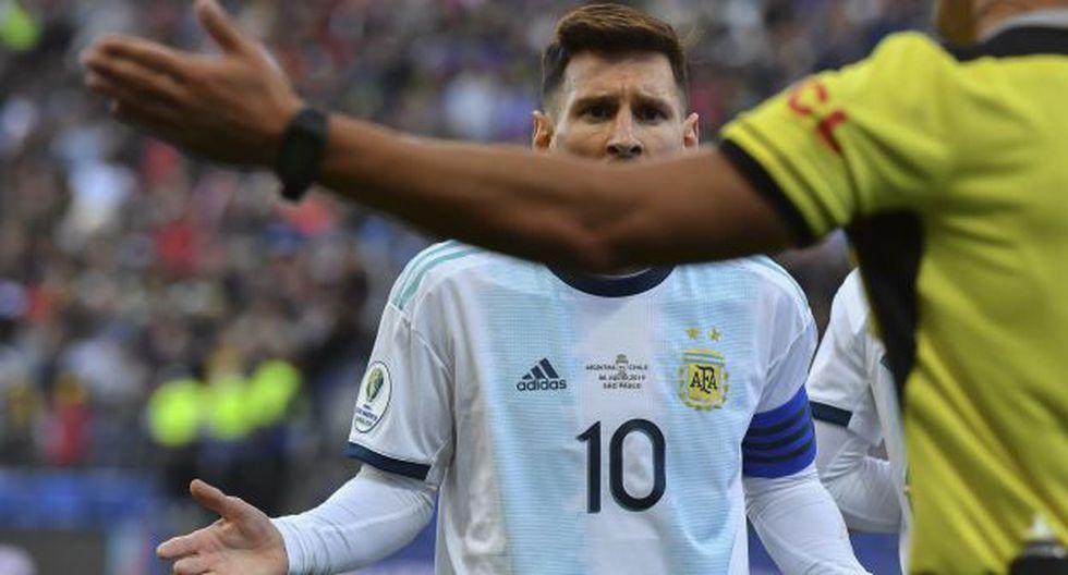 Mister Chip respondió sobre las declaraciones de Lionel Messi. (Foto: AFP)