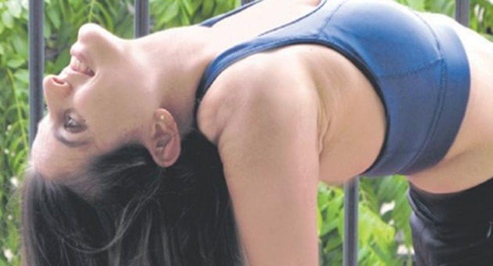 Jéssica Vega Puch nos enseña las bondades del yoga. (Sengo Pérez)