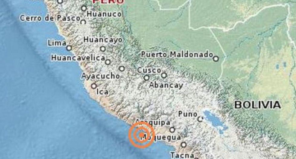 El temblor tuvo 79 km de profundidad. (Foto: Andina)