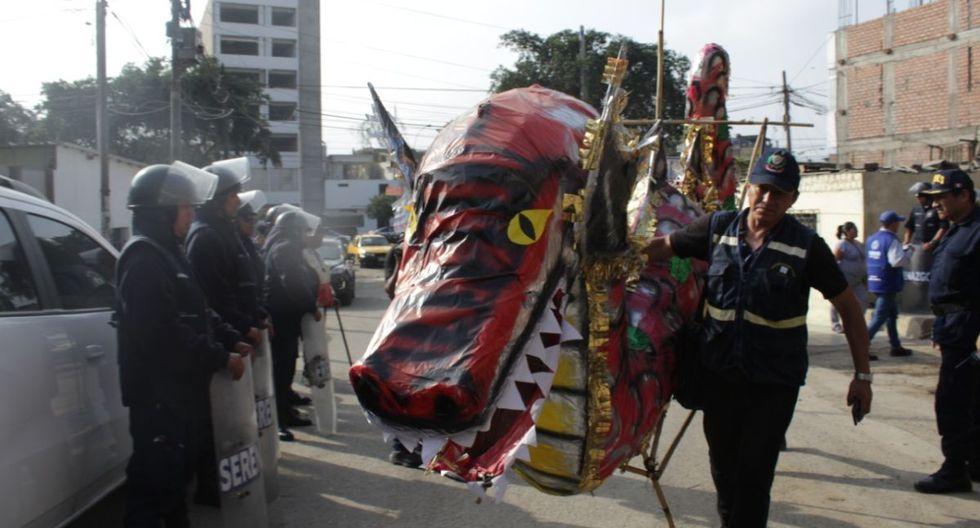 En el operativo participaron serenos de Lima y agentes de la Policía. (Difusión)