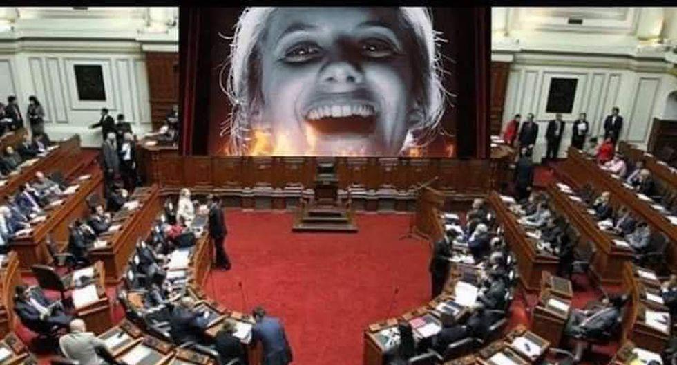 Los memes que dejó la disolución del Congreso. (Foto: Twitter)