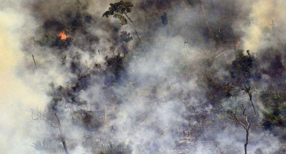 Brasil registró entre enero y las tres primeras semanas de agosto 71.497 focos de incendio. (Foto: AFP)