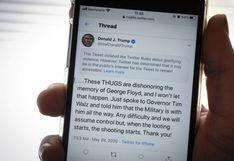 Casa Blanca desafía a Twitter al publicar otra vez el tuit ocultado de Trump
