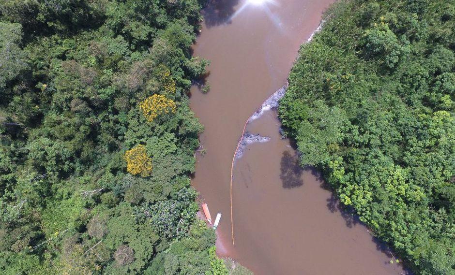 Loreto: imágenes del derrame de petróleo en Saramiriza | FOTOS