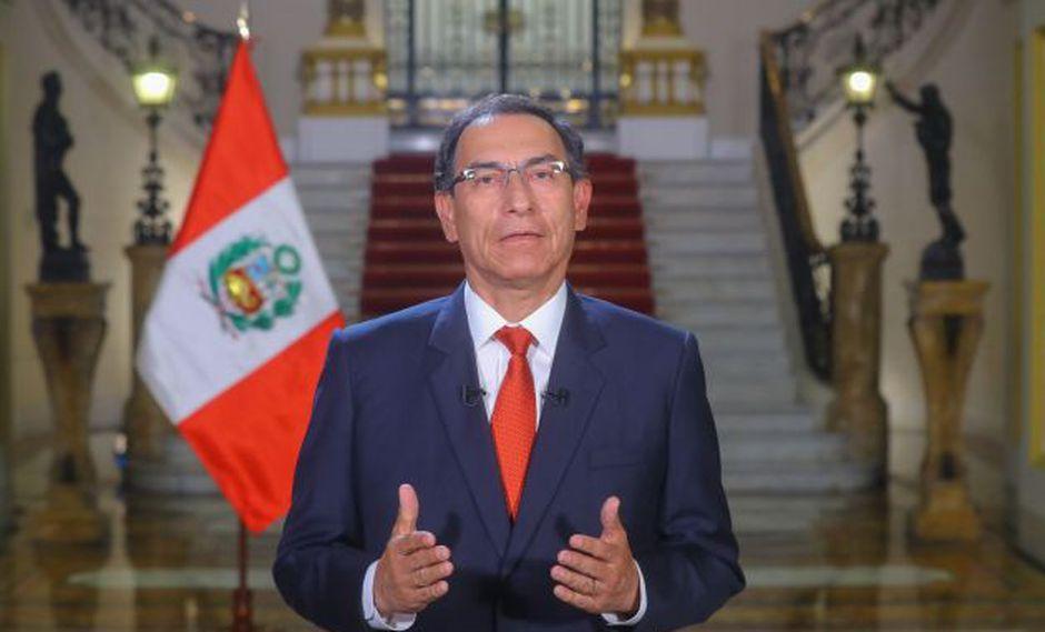 Martín Vizcarra se pronunció sobre marcha que rechaza la violencia contra la mujer.