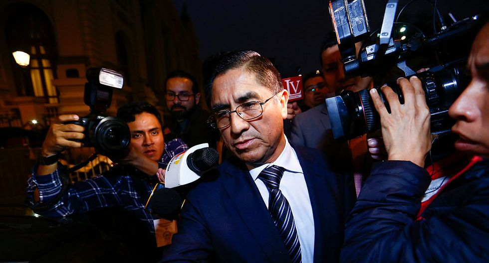 César Hinostroza afronta un proceso de extradición en España. (Foto: GEC)