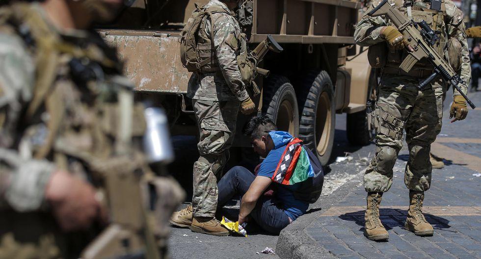 Este lunes, miles de chilenos regresaron a las calles para expresarse contra Sebastián Piñera. (Foto: AFP)