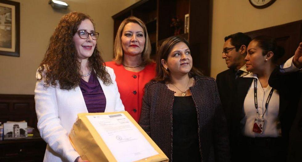 Rosa Bartra fue presidenta de la Comisión Lava Jato, en la cual no se recomendó investigar a Alan García por el Caso Odebrecht. (Foto: USI)