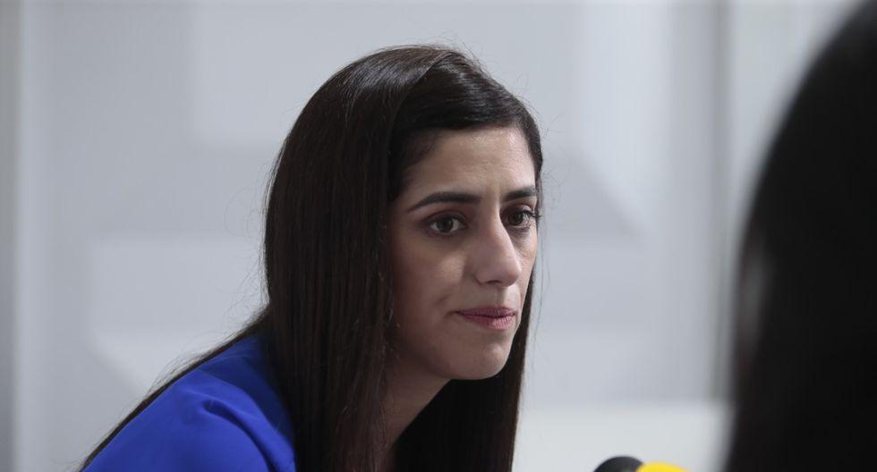María Antonieta Alva, ministra de Economía. (Foto: Hugo Pérez/GEC)