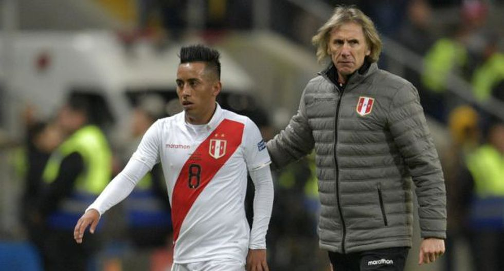 Christian Cueva ingresó a los 58 minutos del amistoso de ida entre Perú y Uruguay por la fecha FIFA de octubre, en reemplazo de un amonestado Gabriel Costa. (Foto: AFP)