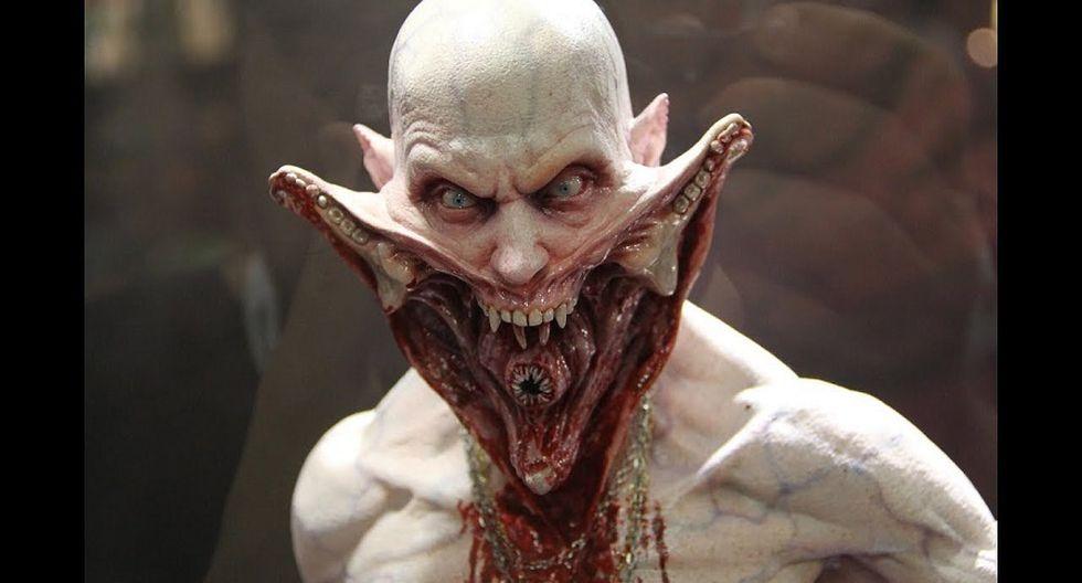 """3. Reaper, """"Blade II"""" 2002. Guillermo del Toro viene preparando lo mejor de su terrorífico repertorio con su nueva película """"Historias de miedo para contar en la oscuridad"""". (Captura de pantalla)"""