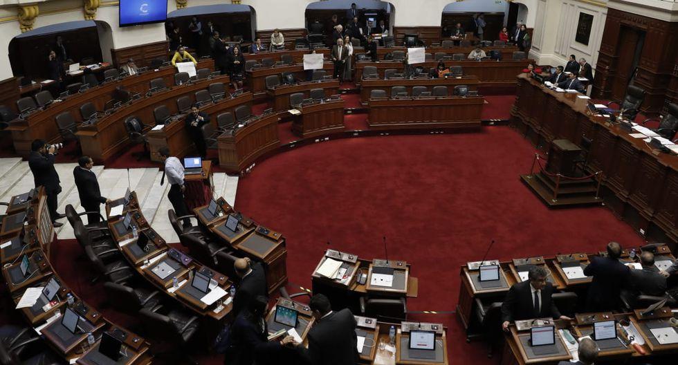 Comisiones legislativas inician instalación para el nuevo periodo 2019-2020. (Foto: Renzo Salazar / GEC)