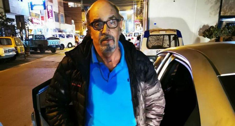 Edwin Donayre fue capturado en Puente Piedra. (Twitter/Mininter)