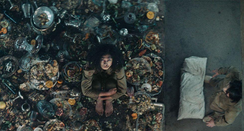 El hoyo: explicación del final de The Platform, película española de Netflix (Foto: Netflix)