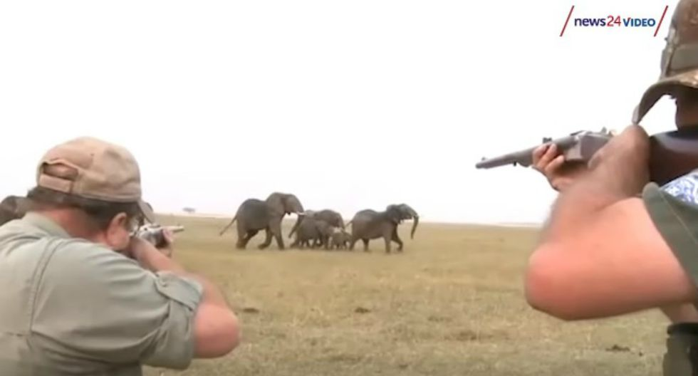 Tras la viralización de las imágenes, un canal de noticias investigó el cruel episodio captado en video. (Foto: Captura)