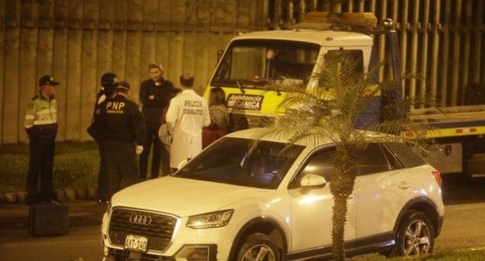 Mario Fernández frustró el secuestro de su hija en La Molina tras persecución. Ella fue interceptada .(Foto: César Campos/GEC)