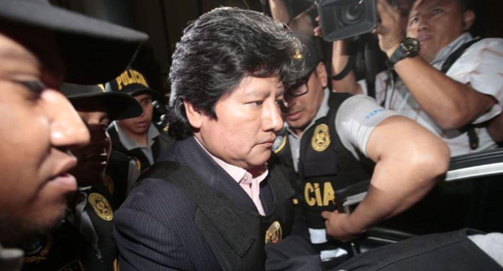 Edwin Oviedo permanece recluido en un penal de Chiclayo tras una orden de prisión preventiva por el caso Los Wachiturros de Tumán. (Foto: GEC)