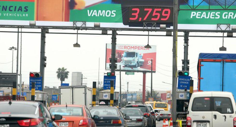 Rutas de Lima y Línea Amarilla suman 18 garitas en la capital. (Foto: GEC)